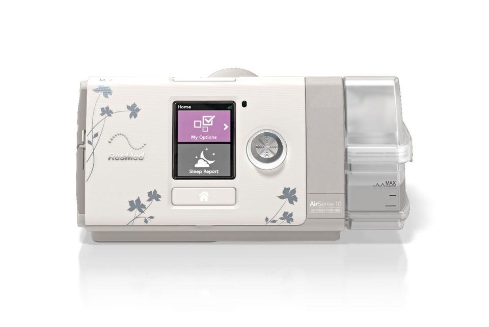 resmed airsense 10 autoset for her with inbuilt humidifier - respirico
